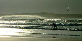 Surfen an der Doughmore beach
