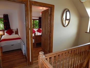Les chambres dans la 1er étage