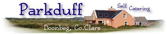 parkduff ferienhaus an der irischen Atlantikküste co.clare irland