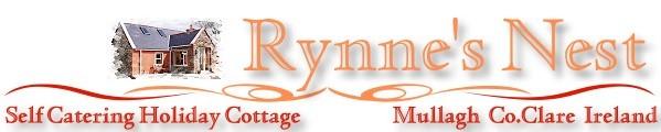 rynne's nest ferienhaus cottage, mullagh, spanish point, clare irland